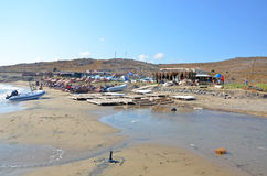 Beach at Gokceada Royalty Free Stock Photos
