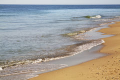 Beach in Golden Sands. Bulgaria Royalty Free Stock Photo