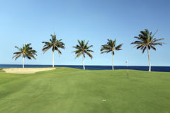 Beach Golf Course, Kona, HI Royalty Free Stock Photography