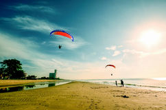 Beach. Good time and good fun from thailand Royalty Free Stock Photos