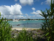Beach Of Grand Baie Royalty Free Stock Images
