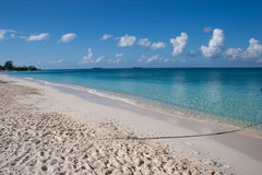 Beach at Grand Cayman Island Royalty Free Stock Images