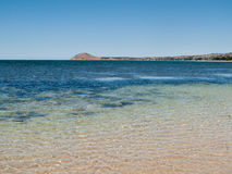 Beach at Granite Island near Victor Harbor Stock Photo