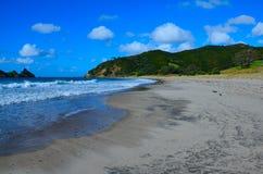 Beach; Great Barrier Island Royalty Free Stock Photo