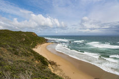 Beach at Great Ocean Road, Australia Stock Images