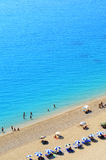 Beach in Greece Royalty Free Stock Photo