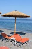 Beach in Greece, Evia Stock Photos