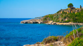 Beach greece Royalty Free Stock Photography