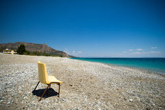 Beach in Greece Royalty Free Stock Image