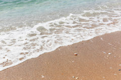 Beach in Greece Stock Photography