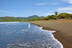 Beach in Guanacaste Royalty Free Stock Photos