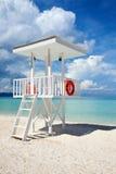 Beach guard tower in Boracay Stock Image