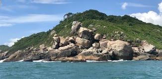 Beach guarda do embau, Brasil. Beach in guarda do embau Brasil royalty free stock image