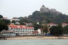 Beach in Gulangyu Stock Image