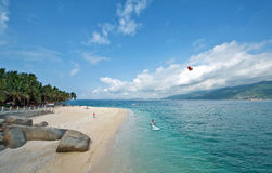 Beach of hainan Island Stock Images