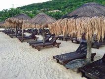 Beach in Hainan island, China royalty free stock photos