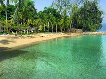 Beach in Haiti royalty free stock photos