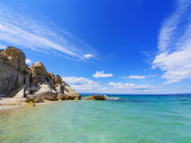Beach on Halkidiki, Sithonia, Greece stock images