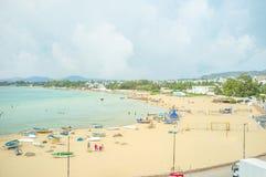 The beach of Hammamet Stock Images