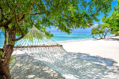A beach hammock in the gili islands,bali 2 Stock Images