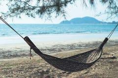 Beach hammock Royalty Free Stock Images