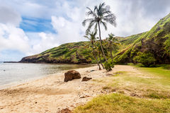 Beach at Hanauma Bay Stock Images