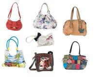Beach handbags Royalty Free Stock Photos