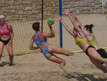 Free Beach Handball Gaeta 2018 Royalty Free Stock Photography - 131779787