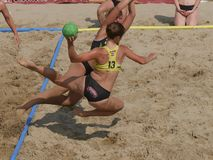 Free Beach Handball Gaeta 2018 Stock Photos - 131779823