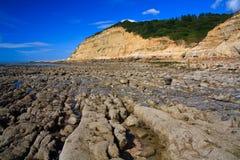 Beach in Hastings, UK. Royalty Free Stock Image
