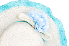 Beach hat isolated Stock Images