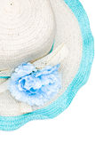 Beach hat isolated Stock Photography