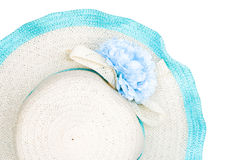 Beach hat isolated Royalty Free Stock Image