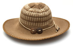 Beach hat from the sun Royalty Free Stock Images