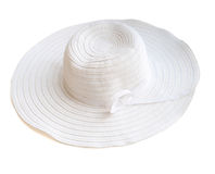 Beach hat from the sun Royalty Free Stock Image