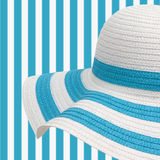 Beach hat Stock Photography