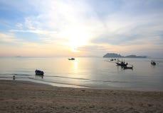 Beach hatsairee chumporn city in thailand3. Beach hatsairee chumporn city thailand on morning2 Royalty Free Stock Photos
