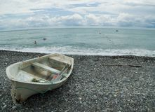 Beach and having a rest. Krasnodar territory, City Sochi Royalty Free Stock Photos