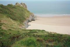 Beach and headland Stock Photography