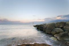 The Beach at Hengistbury Head Stock Photography