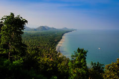Beach. The beach here in Thailand Stock Photography