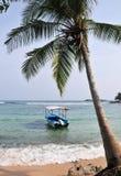 Beach in Hikkaduwa, Sri Lanka Stock Photography