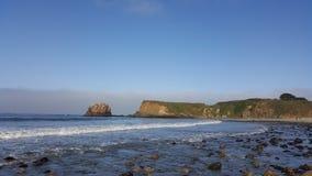 Beach Big Sur Stock Photo