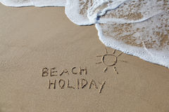 Beach holiday Royalty Free Stock Photos