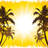 Beach Holiday Background Royalty Free Stock Image