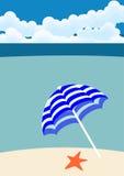 Beach holiday background Stock Photo
