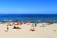 Beach holiday on the Baltic Sea Stock Photos