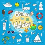 Beach holiday Royalty Free Stock Photo