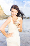 Beach Holiday Concept Royalty Free Stock Photography