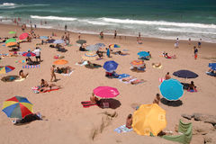 Beach Holiday, Portugal Royalty Free Stock Image